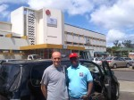 With my friend/colleague Noe Massango, in Mozambique.