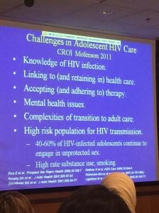 Complexity of pediatric HIV