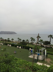 Miraflores, by the Pacific Ocean