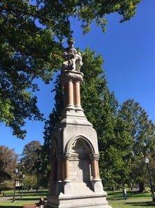 Ether statue in Boston Public Garden. How long should it take medical innovations to come to fruition?