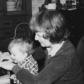 Phil and Nana1982 at Rockingham